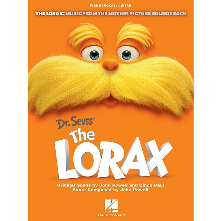 Hal LeonardThe Lorax - Music From The Motion Picture for Piano/Vocal/Guitar