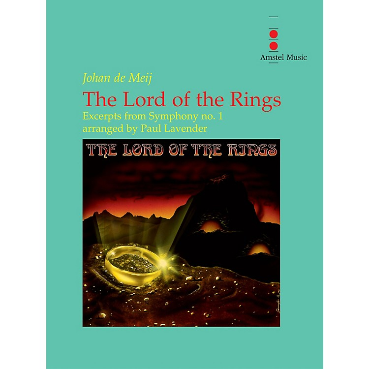 Amstel MusicThe Lord of the Rings (Excerpts from Symphony No. 1) - Concert Band Concert Band by Paul Lavender