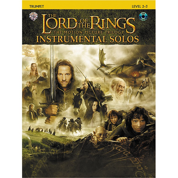 AlfredThe Lord of the Rings Trumpet Instrumental Solos Book & CD