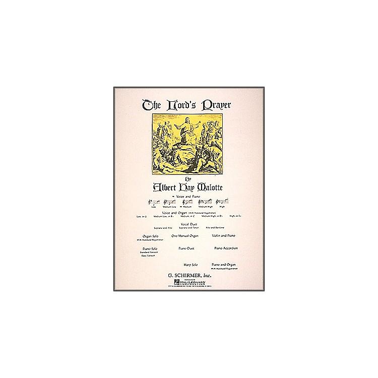 G. SchirmerThe Lord's Prayer In C (Medium Voice) Voice And Piano