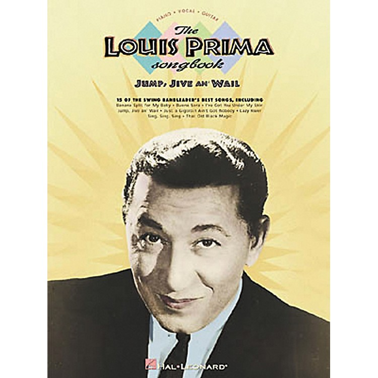 Hal LeonardThe Louis Prima Piano, Vocal, Guitar Songbook