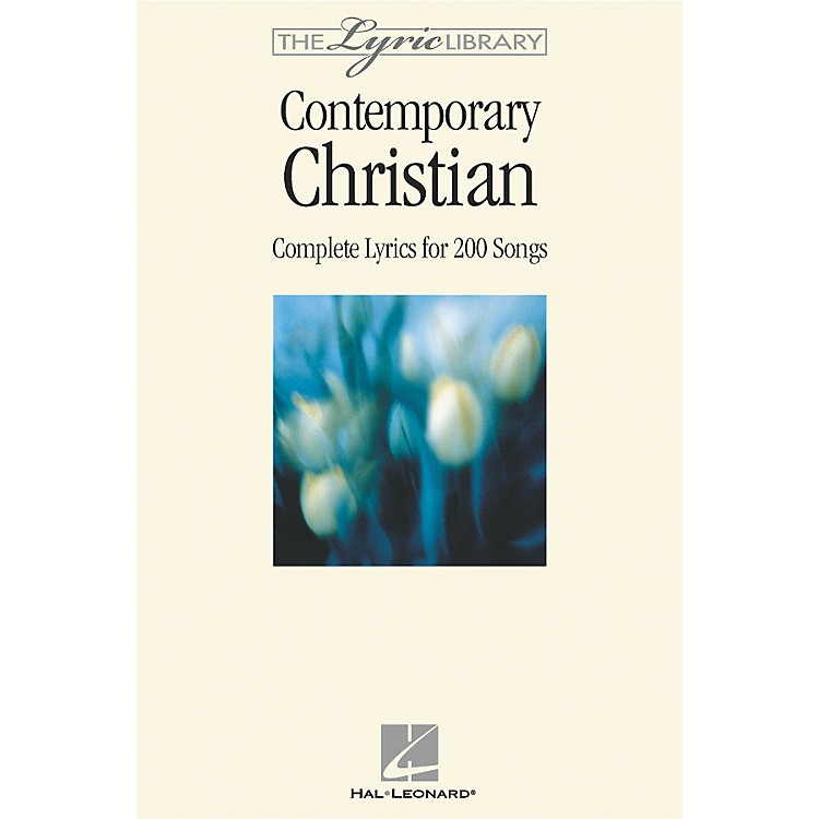 Hal Leonard The Lyric Library: Contemporary Christian