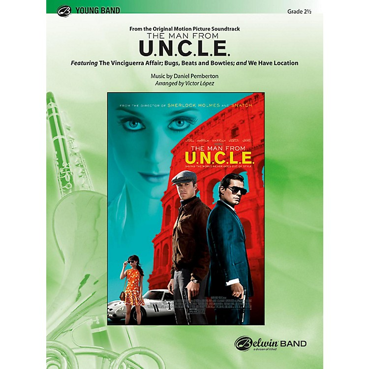 BELWINThe Man from U.N.C.L.E. (from the Original Motion Picture Soundtrack) Grade 2.5 (Easy to Medium Easy)
