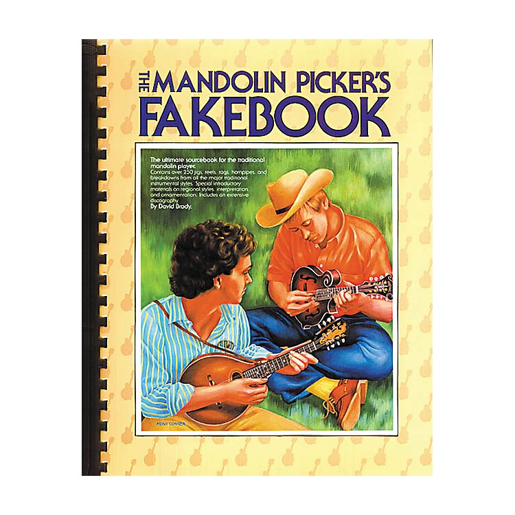 Music SalesThe Mandolin Picker's Fakebook Music Sales America Series Softcover