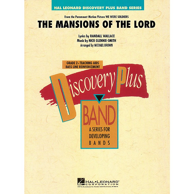 Hal Leonard The Mansions of the Lord (from We Were Soldiers) - Discovery Plus Level 2 arranged by Michael Brown