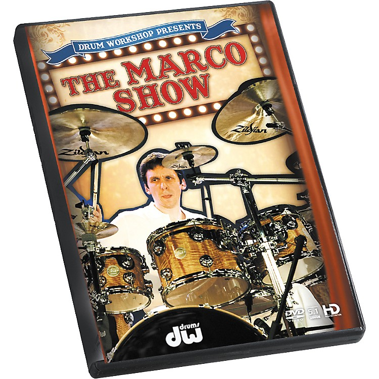 The Drum Channel The Marco Show by Marco Minnemann DVD
