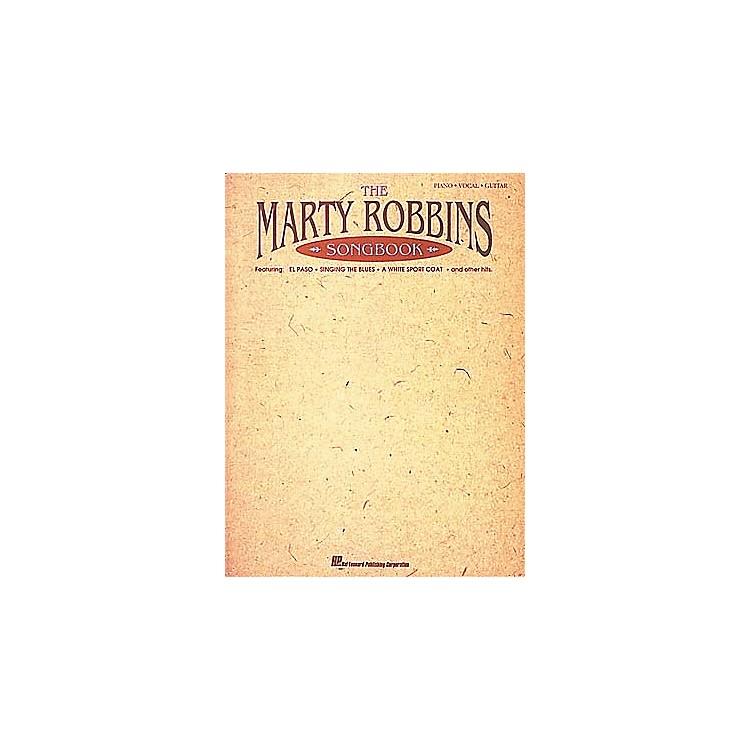 Hal LeonardThe Marty Robbins Songbook Piano/Vocal/Guitar Artist Songbook