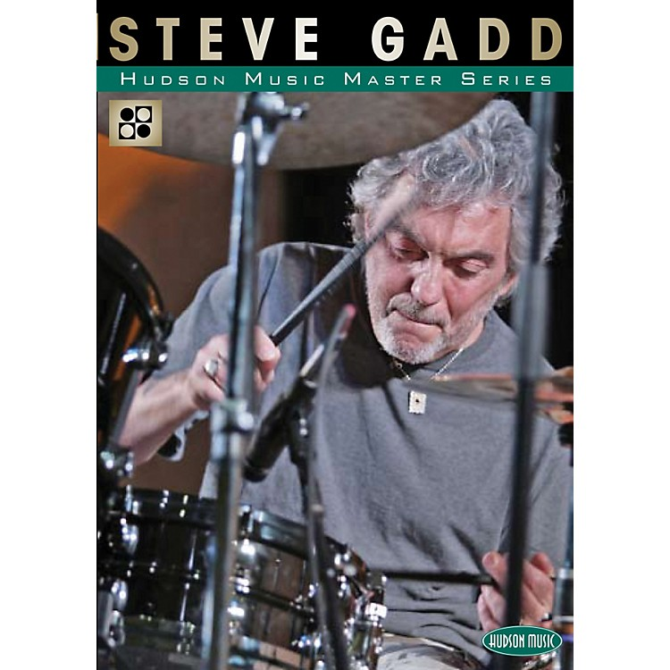 Hudson MusicThe Master Series - Master Classes by Master Drummers DVD with Steve Gadd