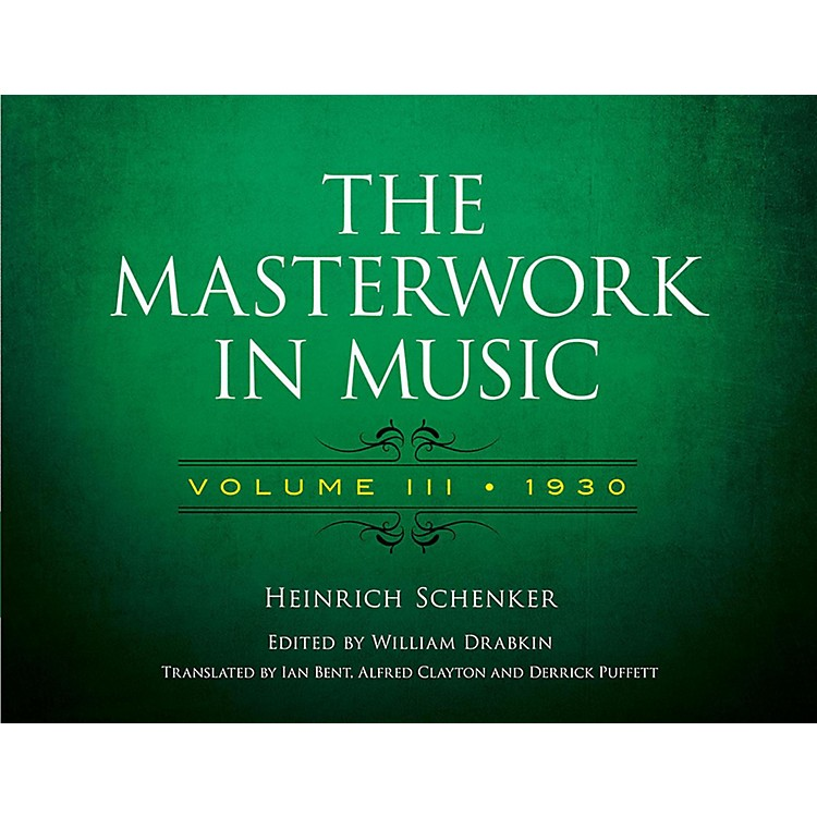 AlfredThe Masterwork in Music, Volume III 1930 - Volume III 1930