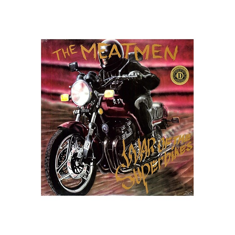 AllianceThe Meatmen - War Of The Superbikes [Clear Vinyl] [Limited Edition]