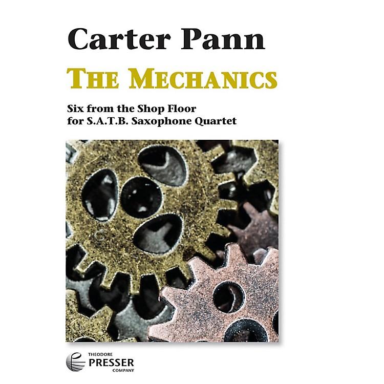 Carl FischerThe Mechanics - Saxophone Quartet