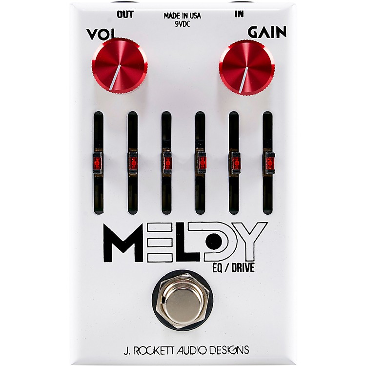 Rockett Pedals The Melody Mark Lettieri Signature Overdrive Effects Pedal