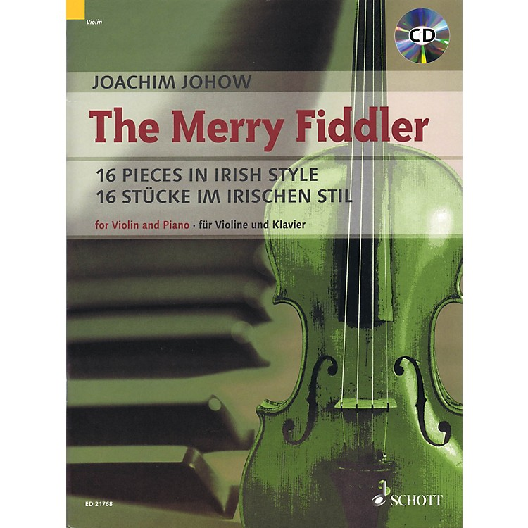 SchottThe Merry Fiddler (16 Pieces in Irish Style) String Series Softcover with CD