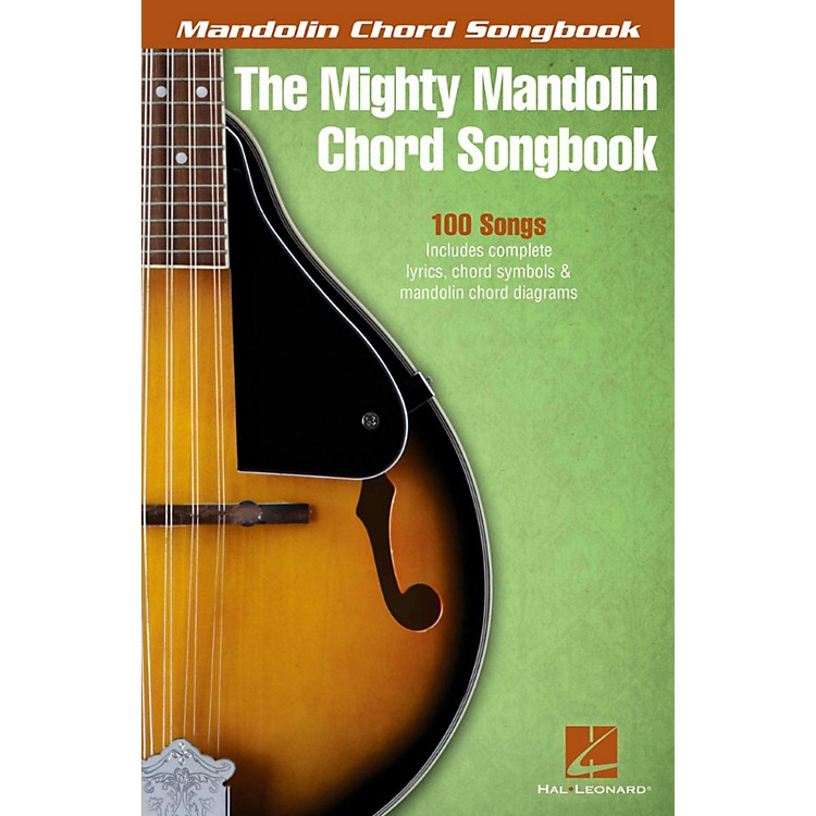 Hal Leonard The Mighty Mandolin Chord Songbook