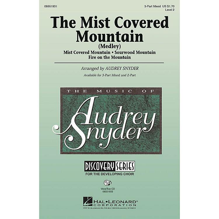 Hal LeonardThe Mist Covered Mountain (Medley) 2-Part Arranged by Audrey Snyder