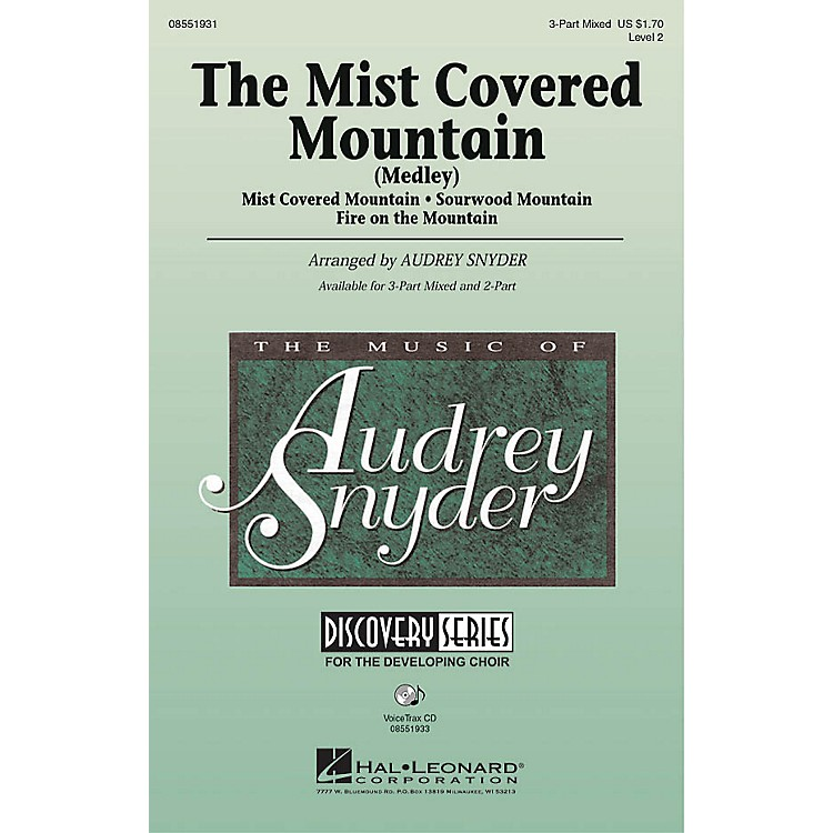Hal Leonard The Mist Covered Mountain (Medley) VoiceTrax CD Arranged by Audrey Snyder