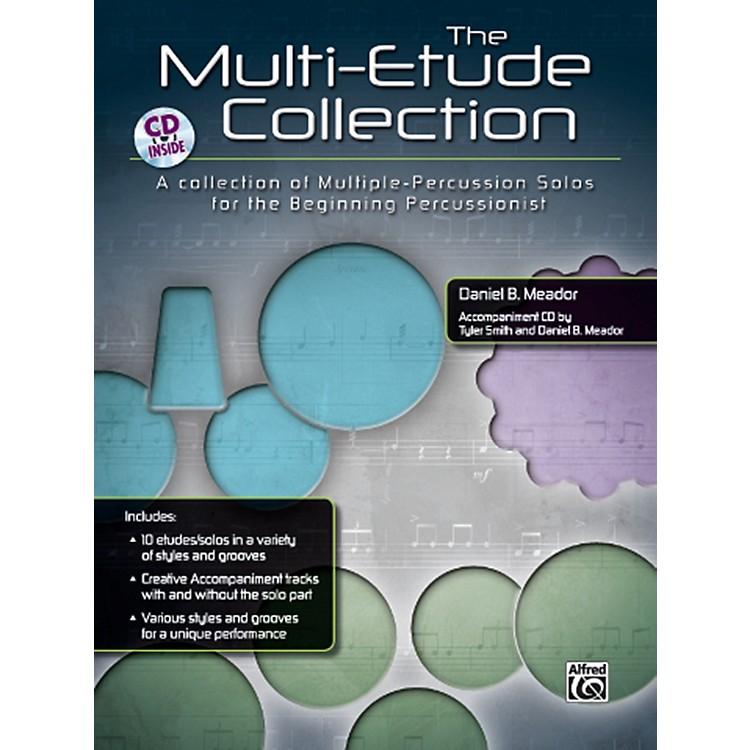 AlfredThe Multi-Percussion Etude Collection Book & CD