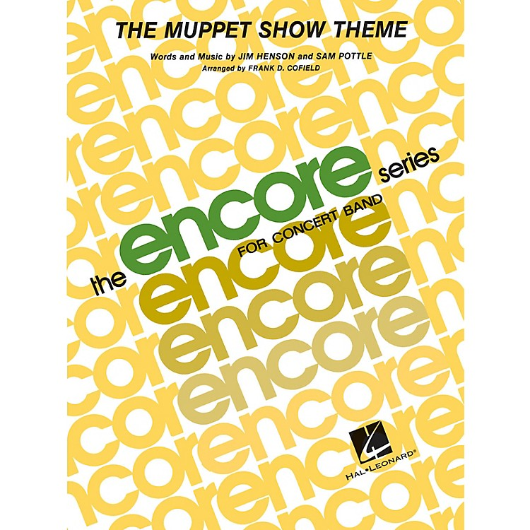 Hal LeonardThe Muppet Show Theme - Young Concert Band Level 3 arranged by Frank Cofield