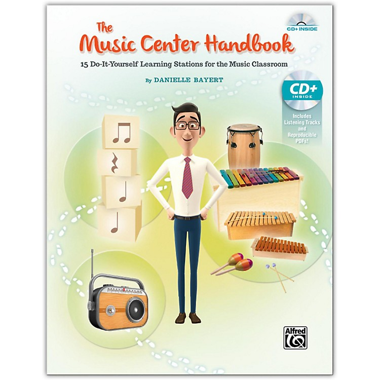 Alfred The Music Center Handbook Book & Data CD