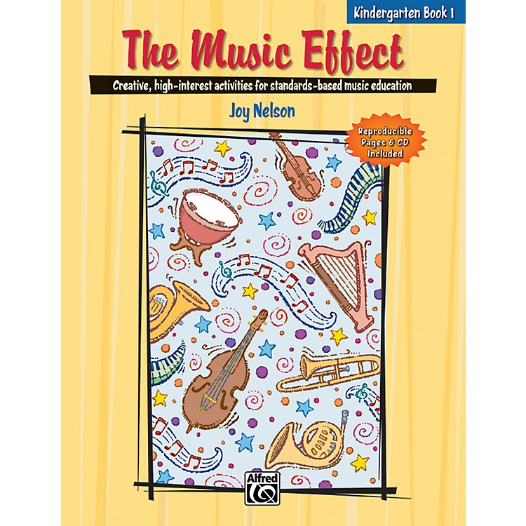 AlfredThe Music Effect, 1 Book & CD