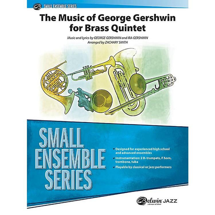AlfredThe Music of George Gershwin for Brass Quintet Concert Band Grade 3 Set