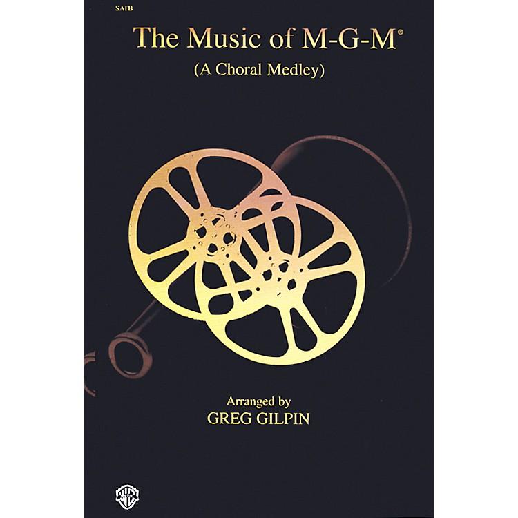 AlfredThe Music of M-G-M (A Choral Medley) SATB Choral Octavo