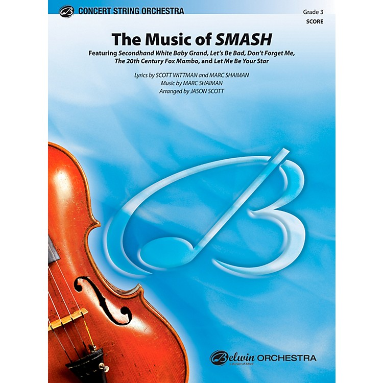 Alfred The Music of SMASH Concert String Orchestra Grade 3 Set