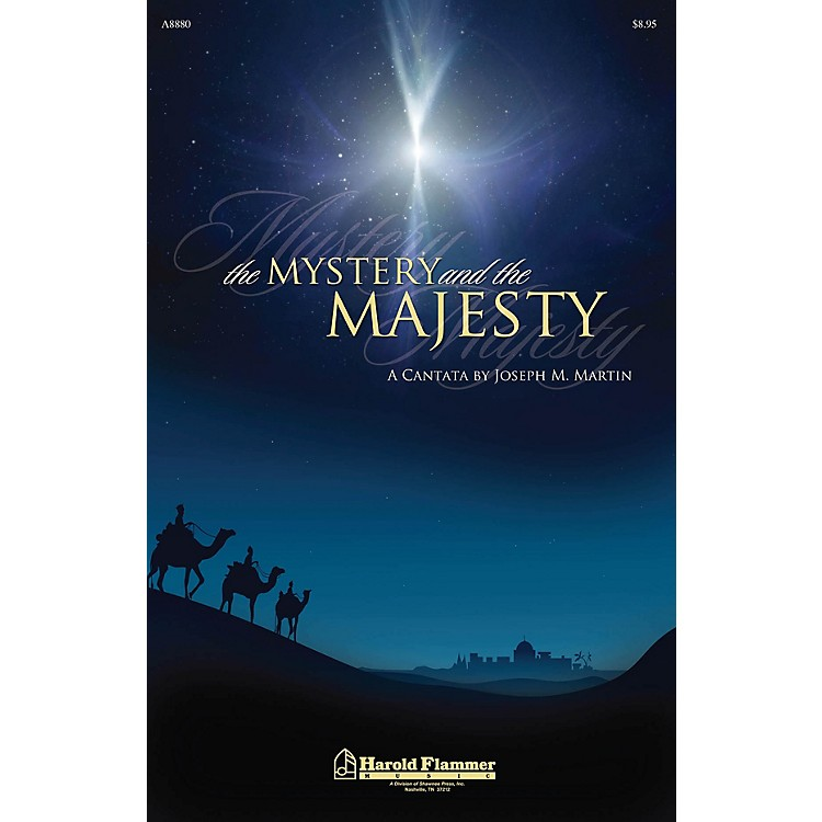 Shawnee PressThe Mystery and the Majesty Listening CD Composed by Joseph M. Martin
