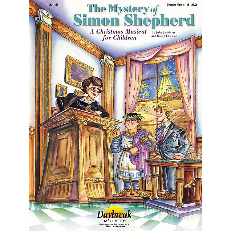 Daybreak MusicThe Mystery of Simon Shepherd (ChoirTrax CD) CHOIRTRAX CD Composed by Roger Emerson