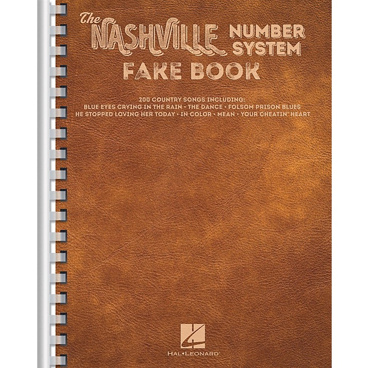 Hal LeonardThe Nashville Number System Fake Book Fake Book Series Softcover Performed by Various