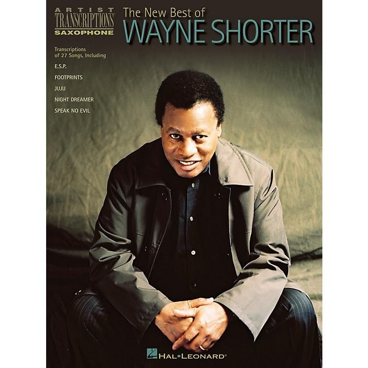 Hal LeonardThe New Best of Wayne Shorter Artist Transcriptions Series Performed by Wayne Shorter