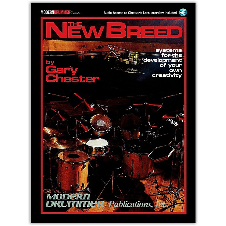 Modern DrummerThe New Breed - Systems For The Development of Your Own Creativity Book/CD
