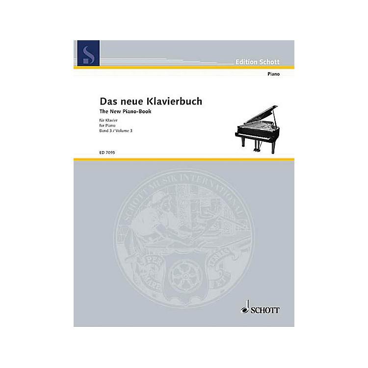 SchottThe New Piano Book - Vol. 3 Schott Series