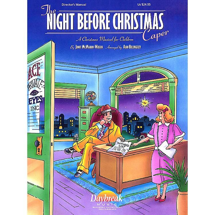 Daybreak MusicThe Night Before Christmas Caper Singer 5 Pak Arranged by Alan Billingsley