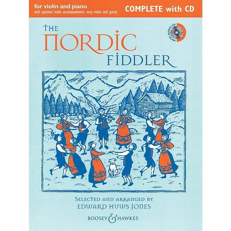 Boosey and HawkesThe Nordic Fiddler (Complete Edition with CD) Boosey & Hawkes Chamber Music Series Softcover with CD