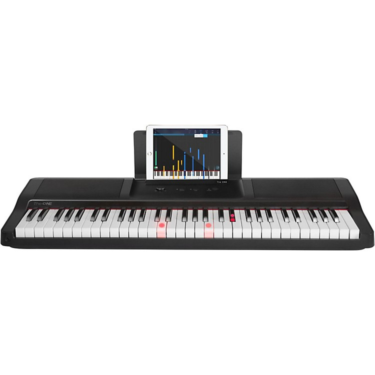 The ONE Music Group The ONE Smart Piano 61-Key Portable Keyboard Black