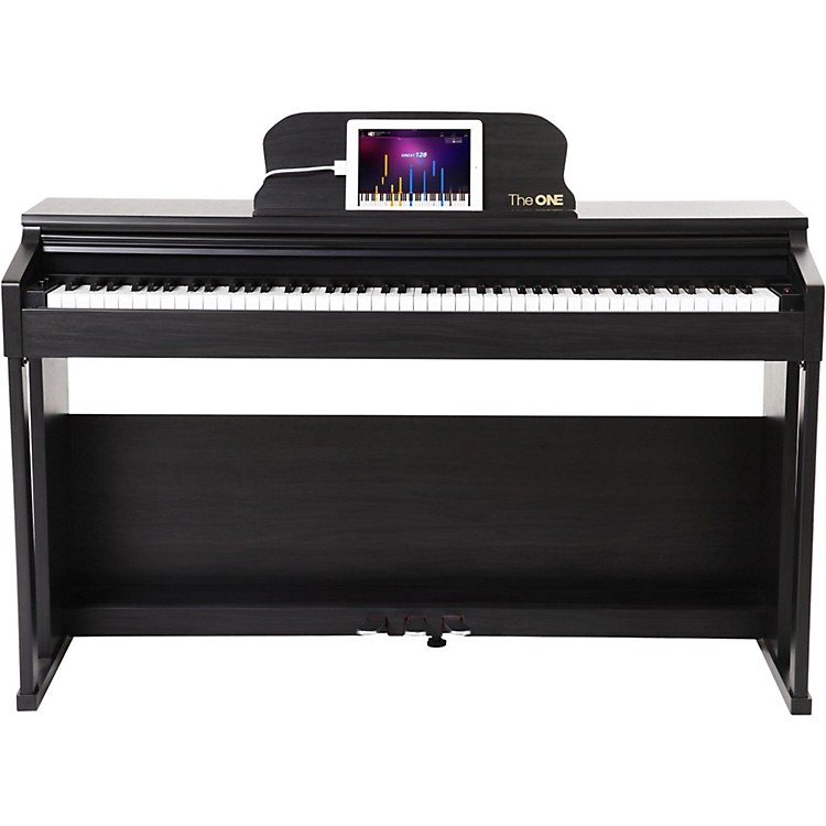 The ONE Music Group The ONE Smart Piano 88-Key Digital Home Piano Black