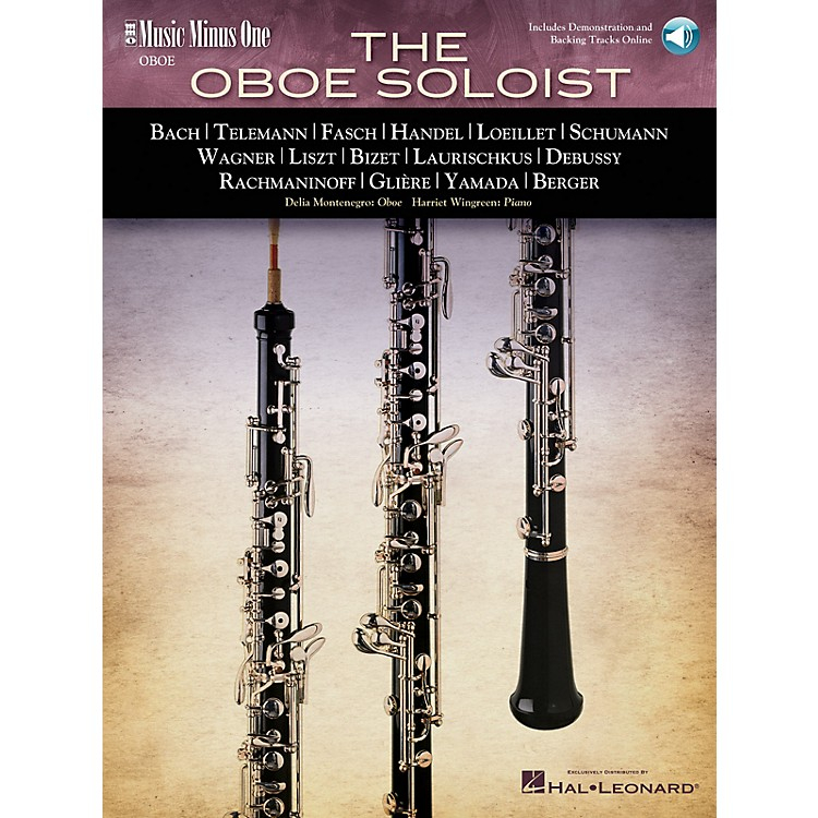 Music Minus One The Oboe Soloist (2-CD Set) Music Minus One Series BK/CD by Various