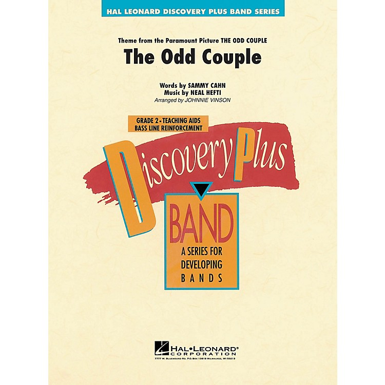 Hal LeonardThe Odd Couple - Discovery Plus Concert Band Series Level 2 arranged by Johnnie Vinson