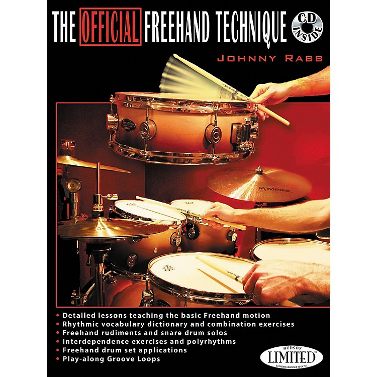 Hudson Music The Official Freehand Technique Johnny Rabb Book/CD