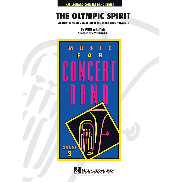 Hal LeonardThe Olympic Spirit - Young Concert Band Series Level 3 arranged by Jay Bocook