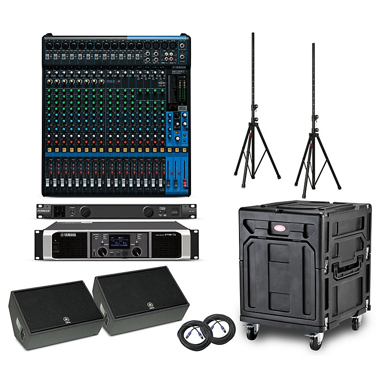 YamahaThe Opener Package - Field PA System with Analog Mixer