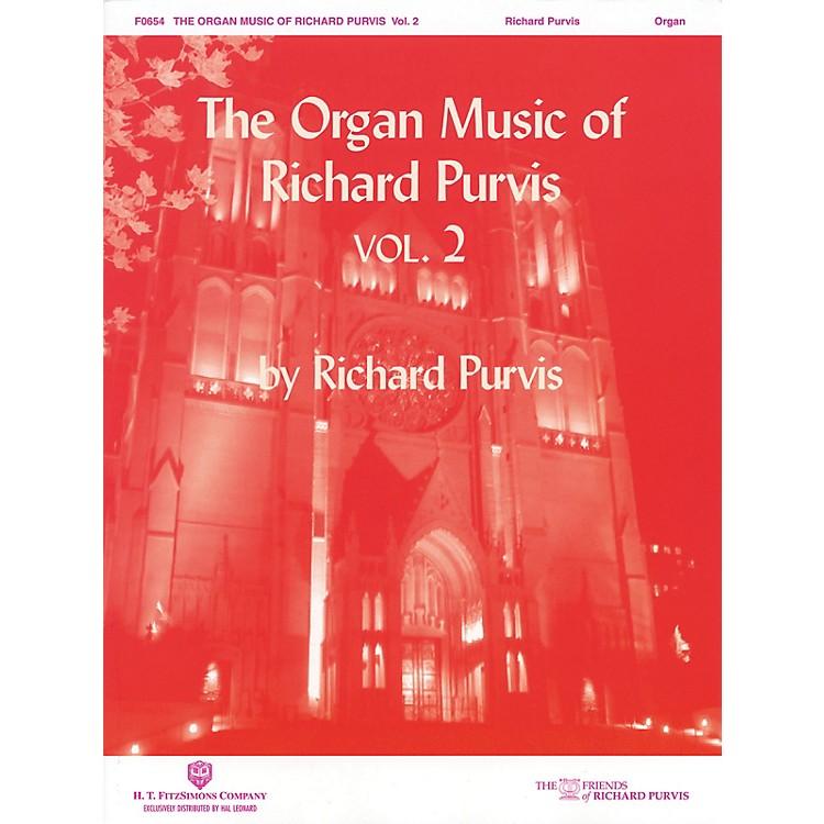 H.T. FitzSimons CompanyThe Organ Music of Richard Purvis - Volume 2 H.T. Fitzsimons Co Series