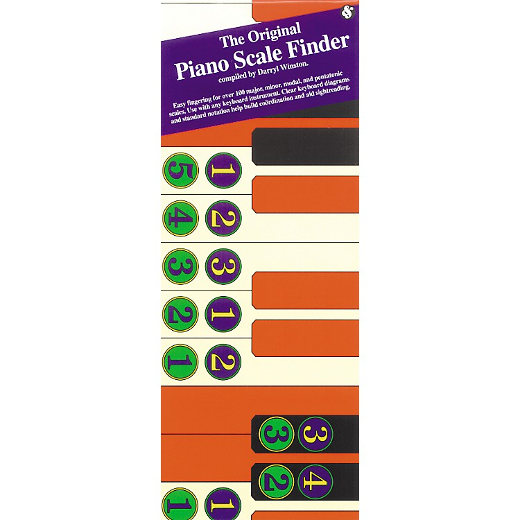 Music SalesThe Original Piano Scale Finder (Book)