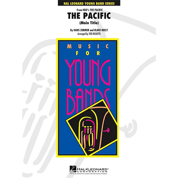 Hal Leonard The Pacific (Main Title) - Young Concert Band Level 3