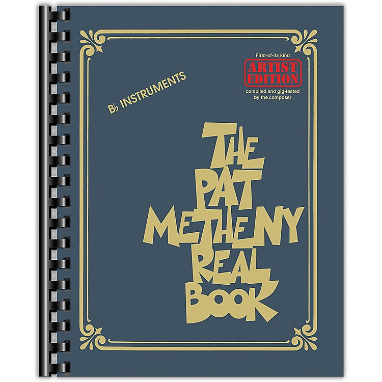 Hal LeonardThe Pat Metheny Real Book (Artist Edition B-Flat Instruments) Fake Book