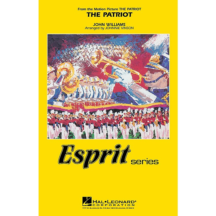 Hal LeonardThe Patriot Marching Band Level 3 Arranged by Johnnie Vinson