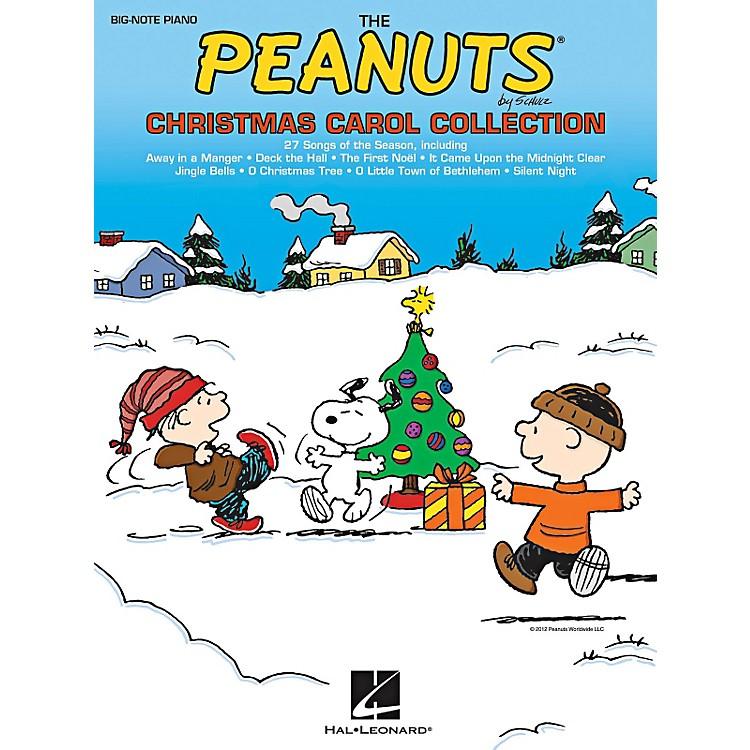 Hal LeonardThe Peanuts Christmas Carol Collection For Big-Note Piano