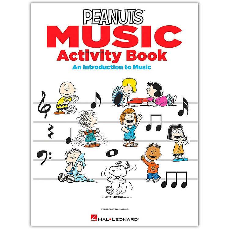 Hal LeonardThe Peanuts Music Activity Book - An Introduction to Music