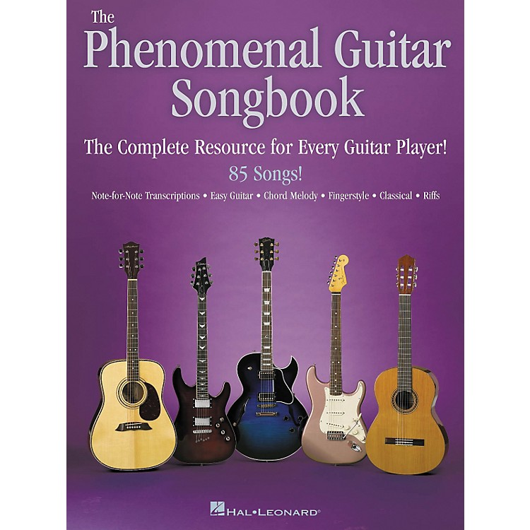 Hal Leonard The Phenomenal Guitar Tab Songbook
